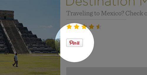 Pinterest Pin Button